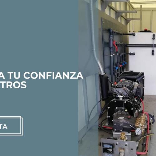 Maquinaria de limpieza en Cartagena | Hidroneri