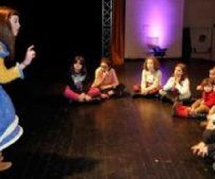 Cuentacuentos: Servicios de Animación sociocultural Nydia