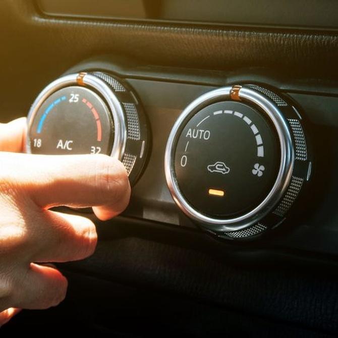 Mantenimiento del aire acondicionado del coche