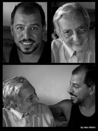 Augusto Madalena con Rolando Toro, creador de Biodanza | Escuela de Biodanza Zaragoza