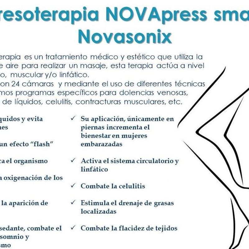 Presoterapia: Servicios de Centro de estética integral y bienestar Mundo de Ensueño