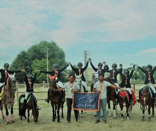 Equipo competición de ponis