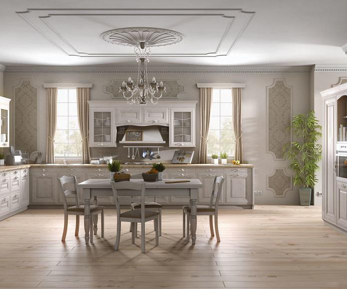 Muebles de madera: estilo clásico : Productos y Servicios de Cocinas y Electrodomésticos J. A. Martín