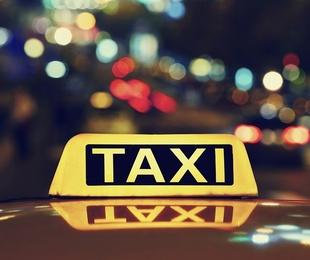 Pedir un taxi de noche
