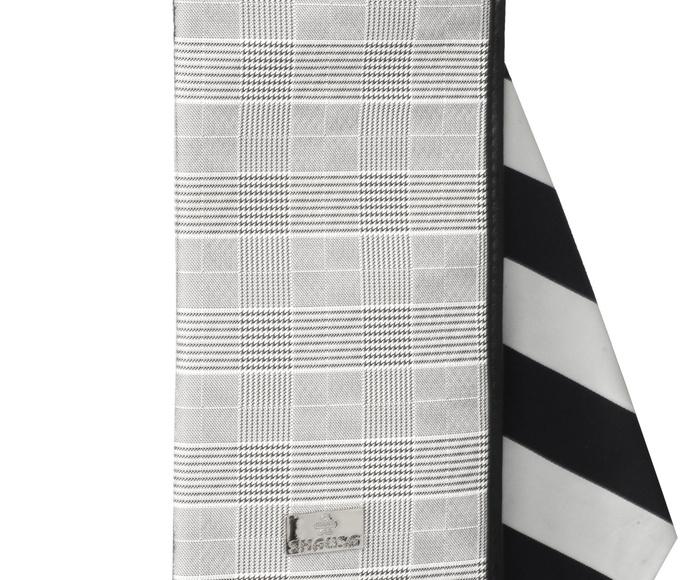 Porta corbatas cuadros caballero