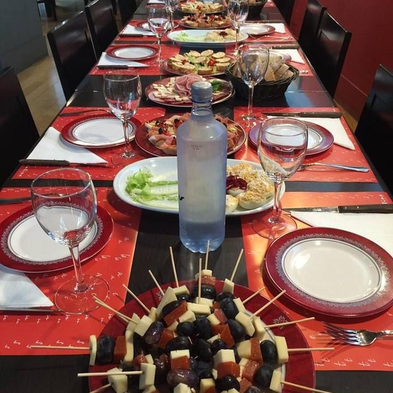Menús especiales: Nuestros Servicios de Restaurante A Cantina