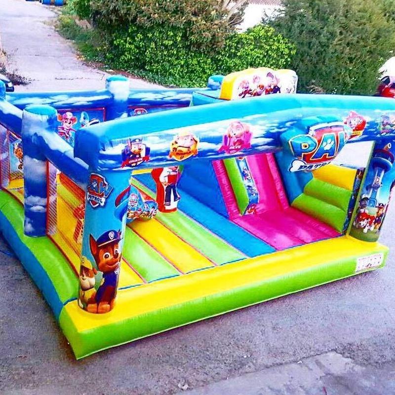 Castillo Hinchable Plataforma con tobogán 3: Catálogo de Hinchables Happy Jump