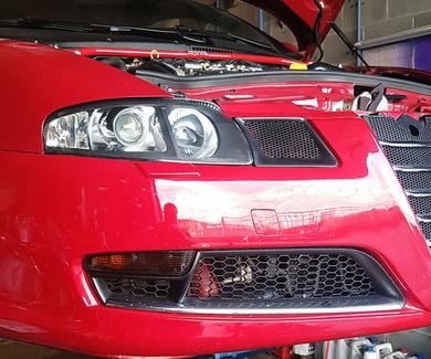 Alfa Romeo GT - Intercooler + Faros negros