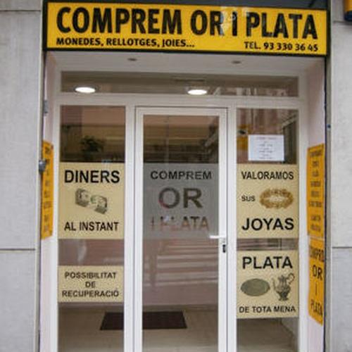 Llausi González, compra de oro y plata en Barcelona