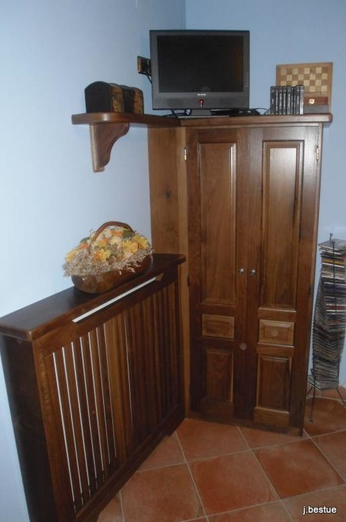 Fabricación de todo tipo de muebles a medida en madera