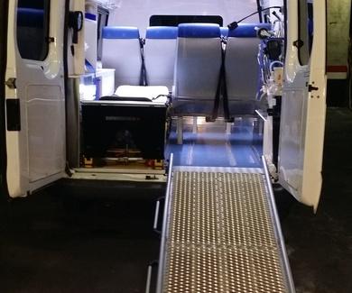 Transporte adaptado a discapacitados