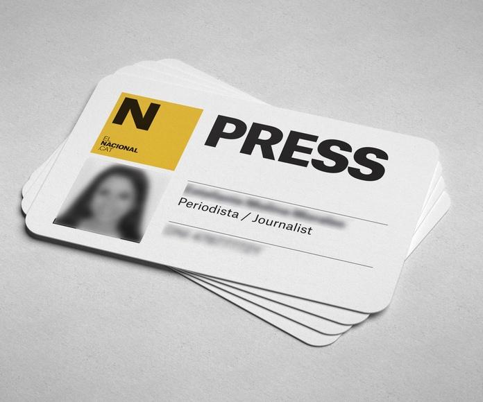 Tarjetas impresas en PVC: NUESTROS SERVICIOS de Lcs Reprograf
