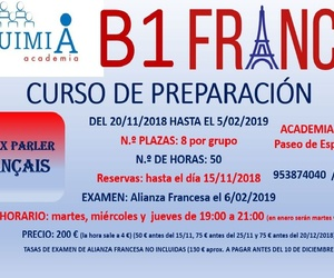 B1 DE FRANCES. (Examen Alianza Francesa 6 FEBRERO 2019)