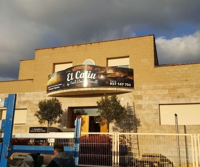 EL CALIU DE SANT LLORENÇ: Nuestras especialidades de El Caliu Brasería Restaurante