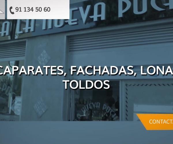Vinilos decorativos baratos y rotulos luminosos en Madrid