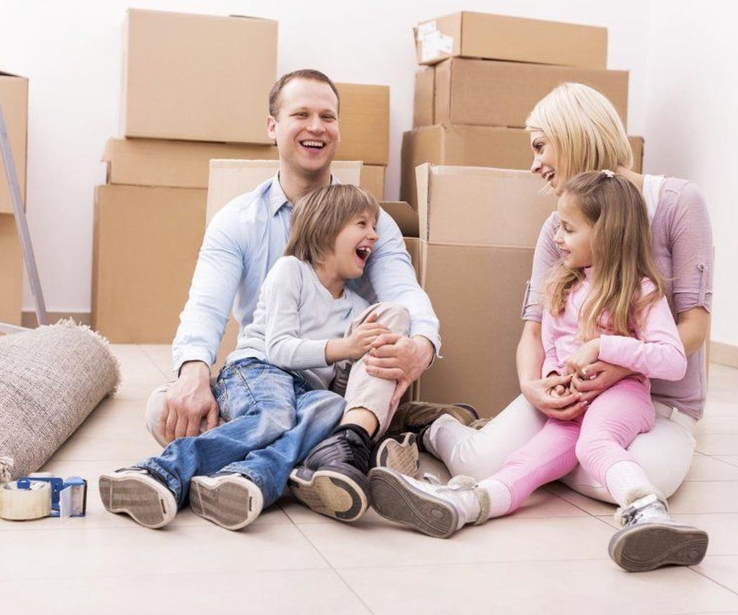Consejos para realizar mudanzas con niños