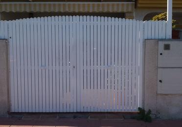 Puertas y vallas de jardín