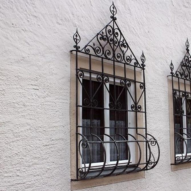 Mantenimiento de las rejas para ventanas
