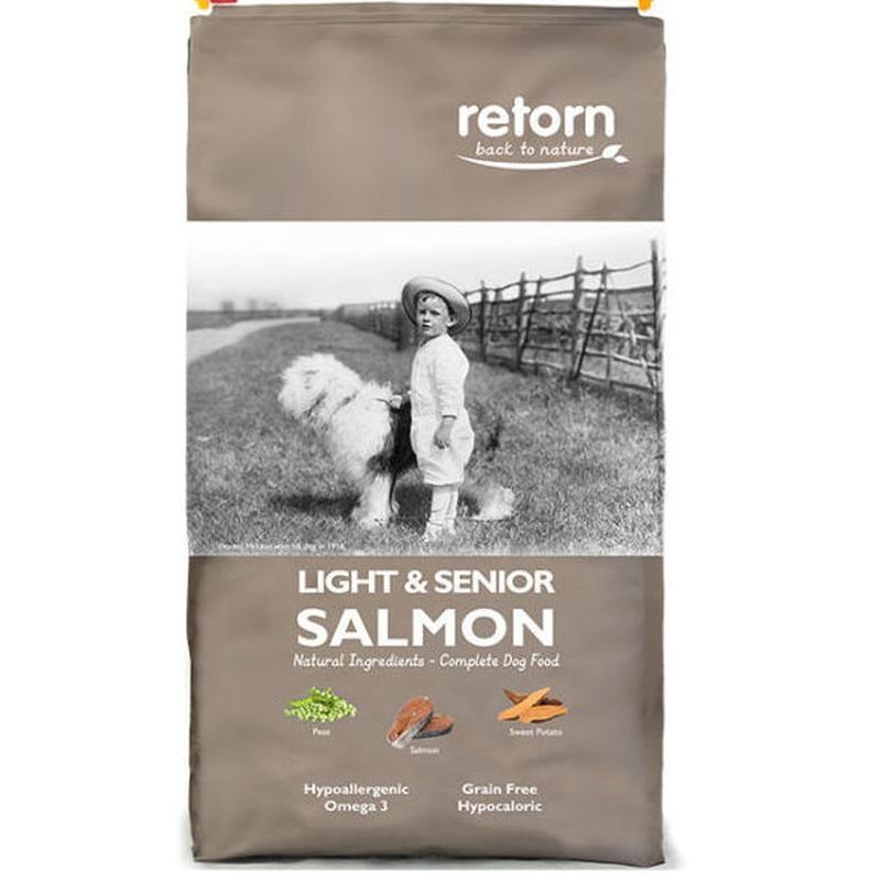 Retorn light & senior salmón: Servicios Veterinarios de Kan's&co Clínica Veterinària
