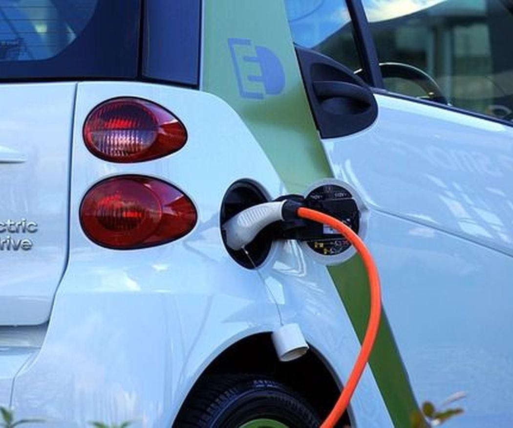 Punto de recarga para vehículos eléctricos