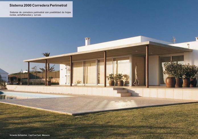 2000 Corredera Perimetral: Catálogo de Jgmaluminio