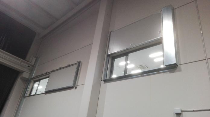 Puerta Corredera y guillotina tipo ventana cortafuegos EI2-60 Santander