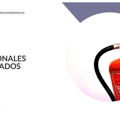 Empresas de extintores en Esplugues | Xetames