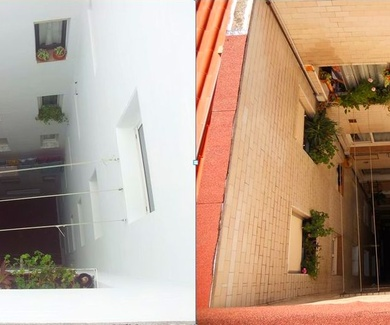 Rehabilitación de patios interiores o patios de luces Santander-Cantabria