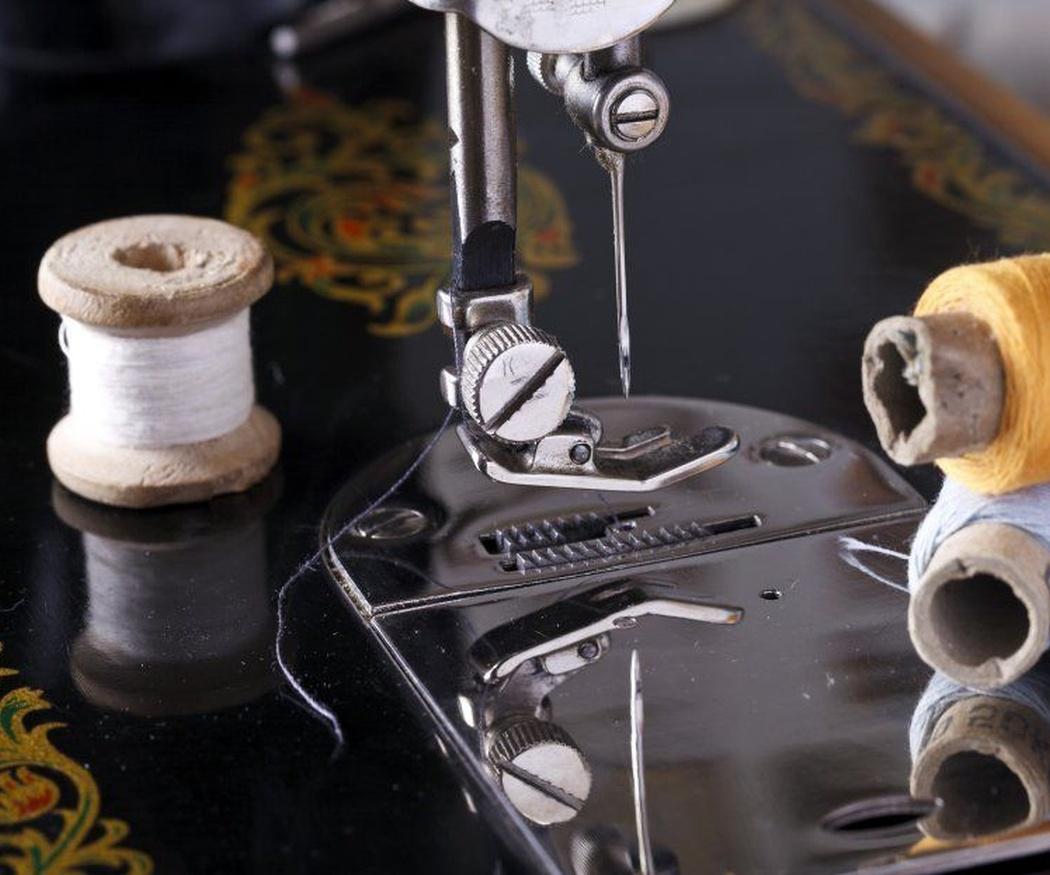 Principales partes de las máquinas de coser