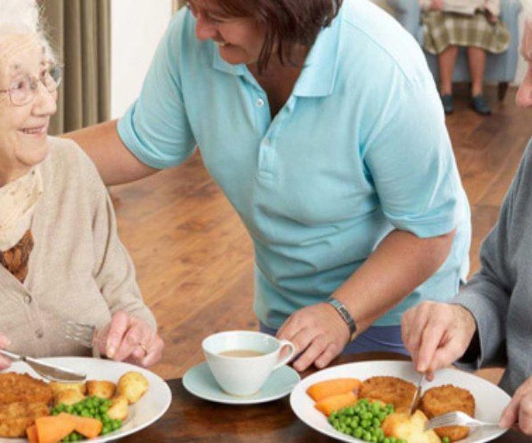 La alimentación de nuestros mayores