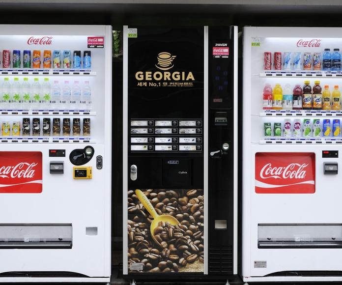 Bebidas Frías: Máquinas Vending de Servigra Alja