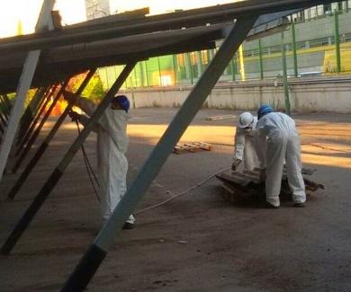 Trabajos con Amianto en Madrid y Castilla la Mancha