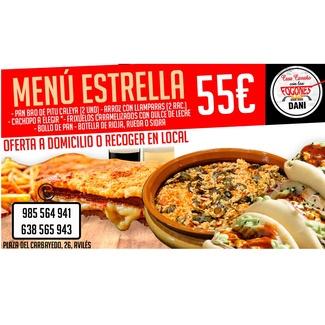 Menú estrella 55€