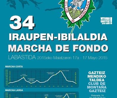 XXXIV Marcha de Fondo - Club de Montaña Gazteiz - RESUMEN 17-Mayo-2015