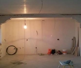 Falsos techos: Servicios de Decoraciones en Escayola Roberto