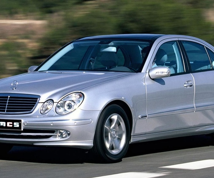 Fallo display cuadro error C249F SBC ABS Mercedes Benz Clase E W211 Mantenimiento freno