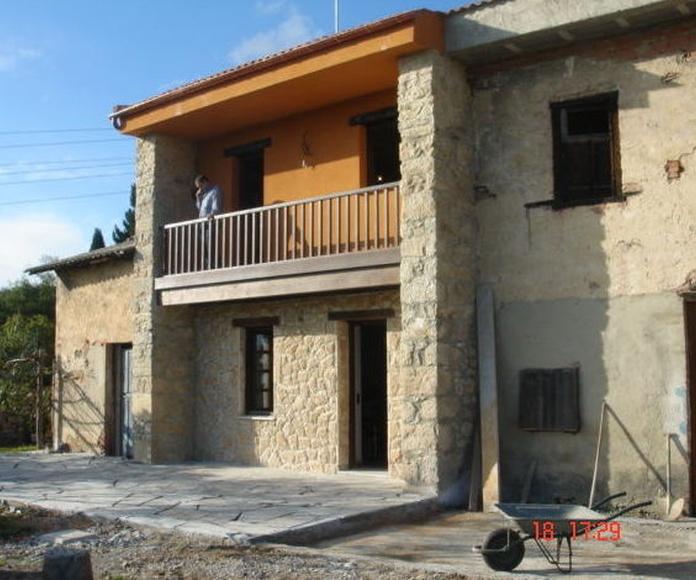 Rehabilitacion de casa en Muncó