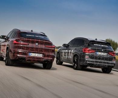 BMW desvela los prototipos del X3 M y el X4 M