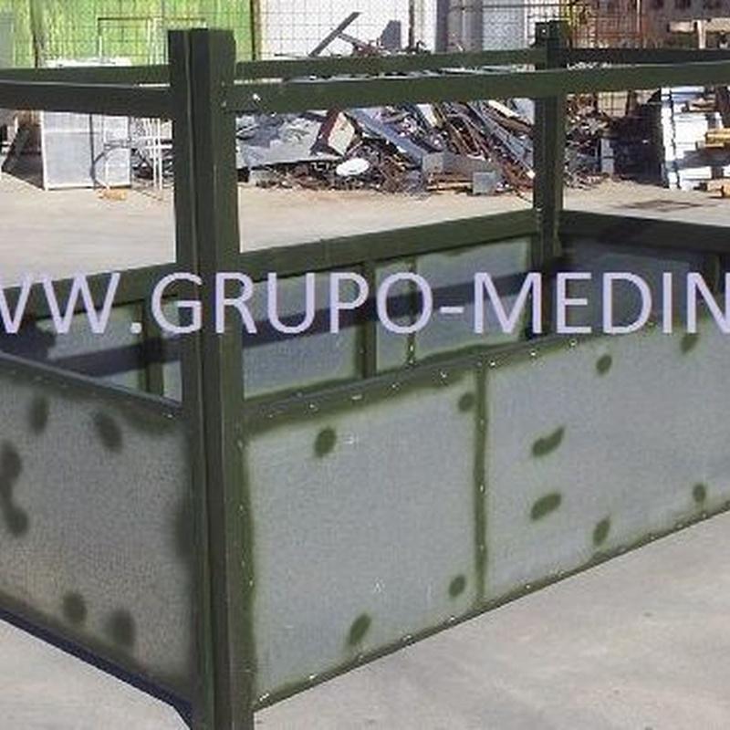 comedero forrajero con tubo : NUESTROS PRODUCTOS de Grupo Medina