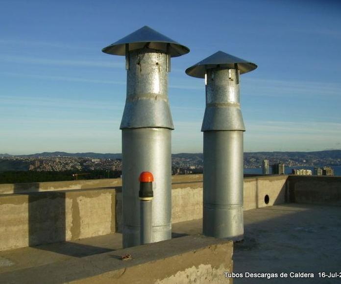 Mantenimiento de chimeneas