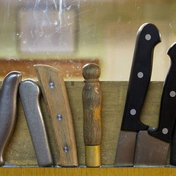 Tres ideas para guardar tus cuchillos