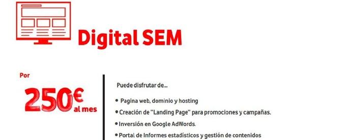 Vodafone Digital SEM Pymes: Nuestras Soluciones de TrébolPhone