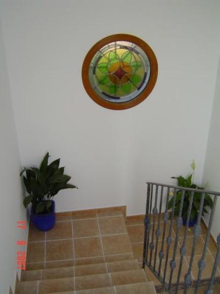 Ojo de buey con vidriera: Catálogo de Aluminios Aludecor Marbella