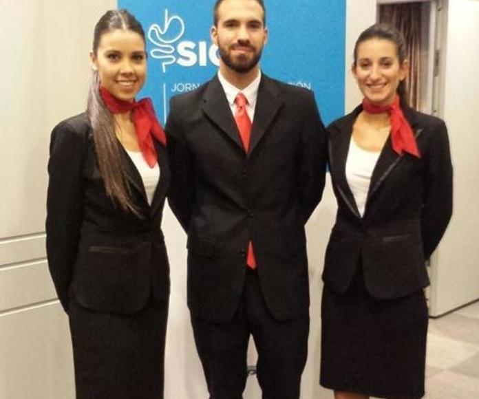 Azafata/o de congresos: Servicios de Elegance Azafatas