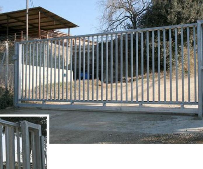 puertas metálicas Granollers