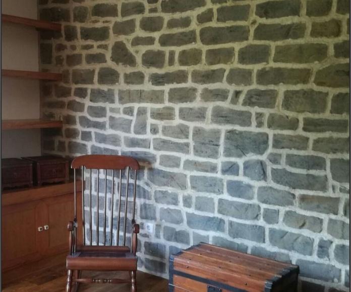 Diseño exclusivo reproducción piedra Pirineo Catalán.