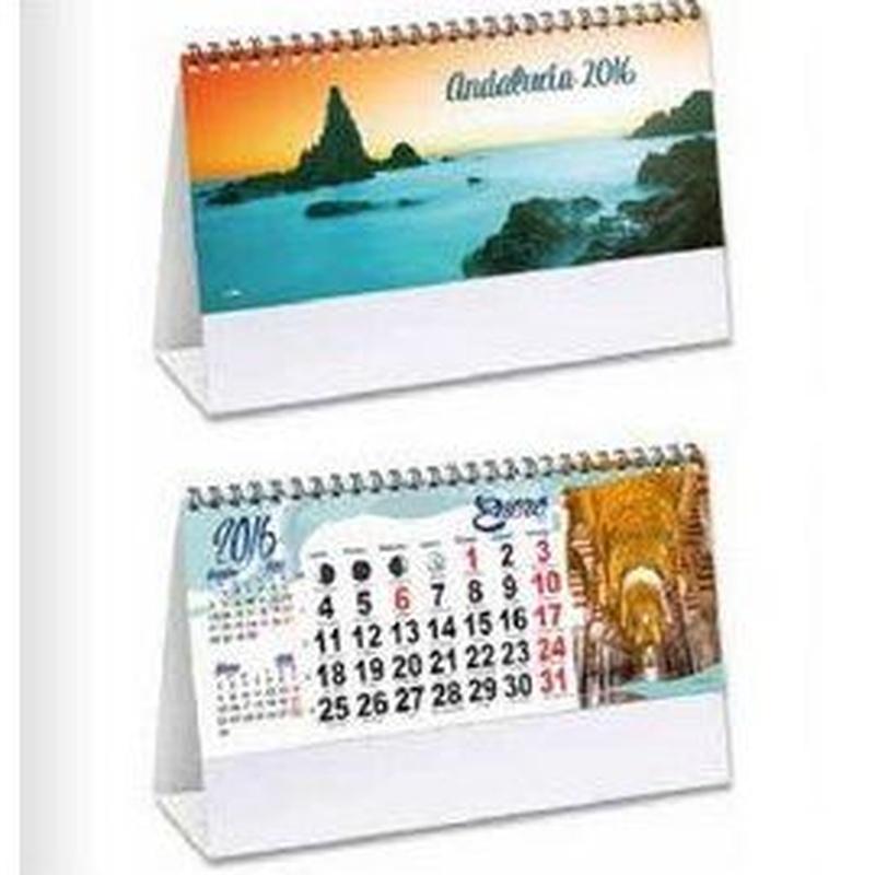 Calendarios y agendas: Visual comunicacion de Eben - Ezer