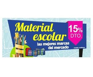 Material escolar: Papelería Lozano
