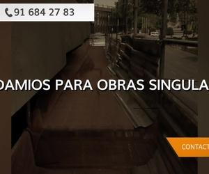 Alquiler de andamios en Toledo | Andamios Cinssa