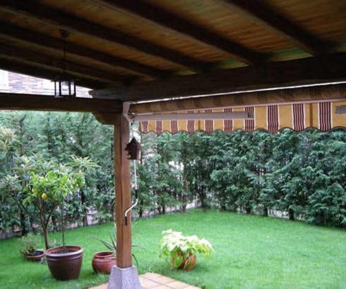Pérgolas de jardín : Productos y servicios de Sucesores de Manuel Marcos